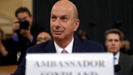 Sondland: Trump Directed Ukraine Quid Pro Quo Via Giuliani