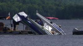 Caught on Camera: Seaplane Plunges Into Maine Lake, No Deaths