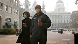 Smoke Spreading From California Fires Sparks Health Concerns