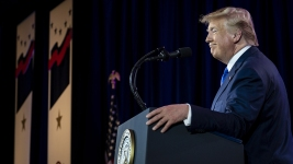 Trump Says He's an 'Island of One' on Syria