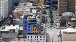 After Delay, New Orleans to Demolish Cranes at Hotel Site