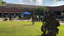 10 Dead, 13 Wounded in Texas School Shooting; Suspect Charged