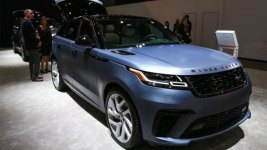 Land Rover's New Lineup Has Some of the World's Fastest SUVs