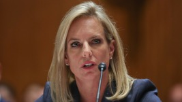 DHS Secretary Says She's Unaware Russia Wanted Trump to Win