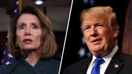 Trump Grounds Pelosi After She Imperils His Big Speech