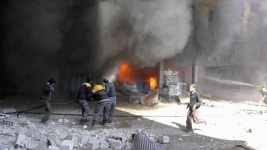 New Strikes Kill 10 in Rebel-Held Suburbs of Syrian Capital
