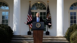 White House Indicates Trump to Veto Disapproval of Emergency