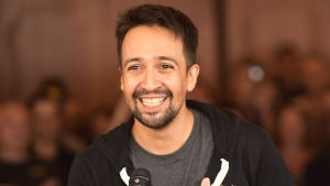 Lin-Manuel Miranda Surprises 'Hamilton' Cast, Crowd Onstage