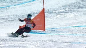 Even a Squirrel Can't Stop This Snowboarder From Winning