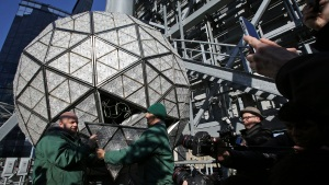 Times Square New Year's Eve Ball Gets Some New Sparkle