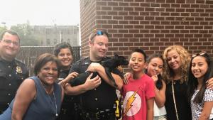 NBC Reporter, Boy, Cops Save Dog Darting Through NJ Street