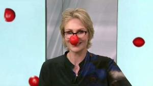 Jane Lynch on 'Red Nose Day' Special