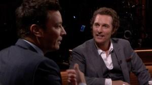 'Tonight': True Confessions With Matthew McConaughey