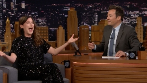 'Tonight': Kathryn Hahn Literally Knows What It's Like to Be Lady Gaga