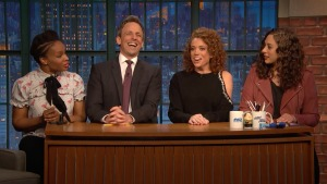 'Late Night': Jokes Seth Meyers Can't Tell With Michelle Wolf