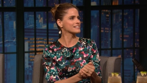'Late Night': Amanda Peet Can't Impress Her Kids
