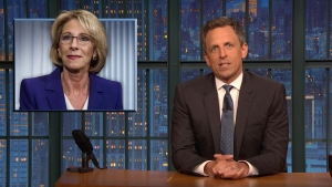 'Late Night': Checking in on DeVos' Rollback of Civil Rights