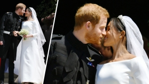 Meghan Markle Wears Dress by UK Designer Clare Waight Keller