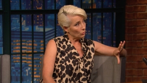 'Late Night': Emma Thompson Accepted Damehood for Fancy Medal