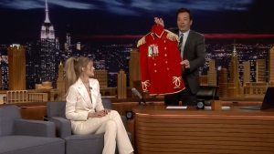 'Tonight': Gigi Hadid Debuts FAO Schwarz Toy Soldier Uniforms