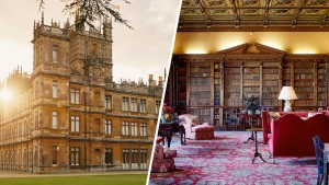 Highclere Castle, Home of 'Downton Abbey,' in Photos