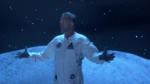 'Tonight': Jimmy and Sting Sing 'Two Stings on the Moon'
