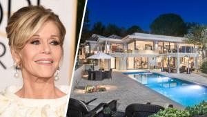 Jane Fonda Parts Ways With Her Swanky Beverly Hills Pad