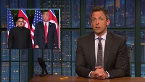 'Late Night': A Closer Look at Trump Meeting Kim Jong Un