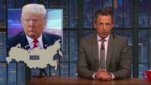 'Late Night': A Closer Look at Trump, Giuliani Panic Over Russia Probe