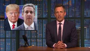 'Late Night': A Closer Look at Cohen Releasing Trump Tape