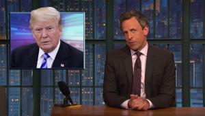 'Late Night': A Closer Look at Trump's Woodward Attacks