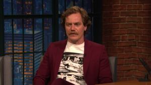 'Late Night': Michael Shannon Talks About 'Fahrenheit 451'
