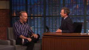 'Late Night': Odenkirk Says Saul Goodman Would Represent Trump