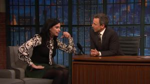 'Late Night': Sarah Silverman Talks 'Ralph Breaks the Internet'