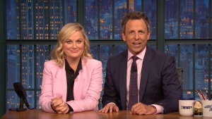 'Late Night': 'Really?!' On Comey's Warning for Dems