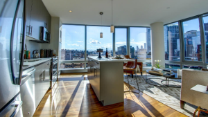 A Sneak Peek Inside Boston Seaport's Posh Penthouses