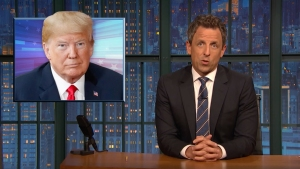 'Late Night': A Closer Look at Trump Avoiding Reporters