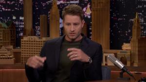 'Tonight': Hartley's Kid Screams Embarrassing Things at Him