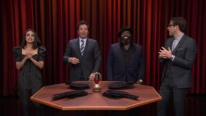 'Tonight': Say That to My Face Challenge With Kunis, Quinto
