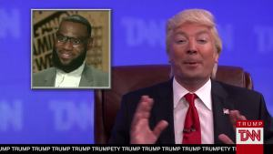 'Tonight': Trump News Network Talks LeBron James