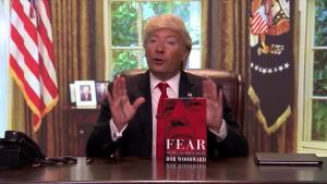 'Tonight': Donald Trump Reacts to Bob Woodward's New Book
