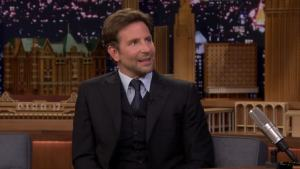 'Tonight': Bradley Cooper Checks If He's Wearing a Repeat Suit