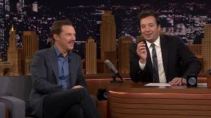 'Tonight': No Laughing Challenge With Benedict Cumberbatch