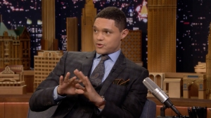 'Tonight': Noah Explains How Lupita Nyong'o Became His Mom