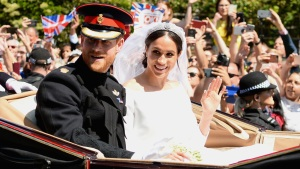 Meghan Markle and Prince Harry Mark 1-Year Anniversary