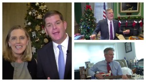 New England Politicians Sing 'Jingle Bell Rock'