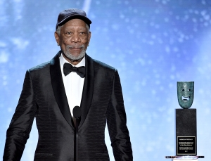 Actor Morgan Freeman Receives SAG Life Achievement Award