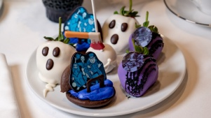 The Haunted Mansion 50th Anniversary Tea's Ghostly Goodies