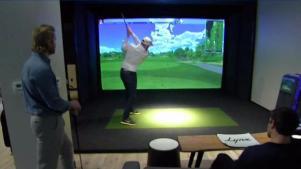 Play Virtual Reality Golf in Boston