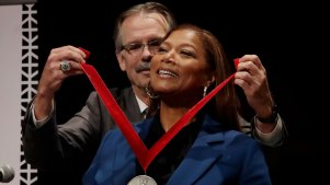 Queen Latifah Receives Harvard Black Culture Award